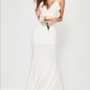 Bridal White Maxi Dress
